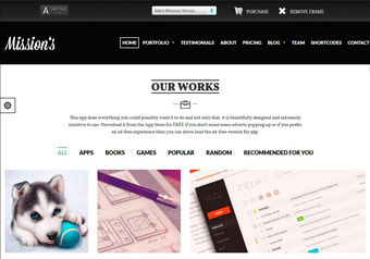 Wordpress ArthaTheme